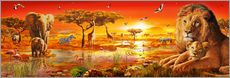 Adrian Chesterman - Savanna Sundown
