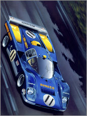 Wall sticker  Le Mans '71 - Gavin Macloud