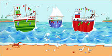 Wall sticker  Boats - Peter Adderley