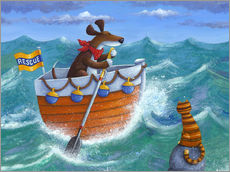 Gallery Print  To the Rescue - Peter Adderley