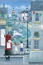 Wall Sticker  Harbour post - Peter Adderley
