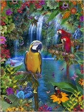 Gallery print  Bird Tropical Land - Alixandra Mullins
