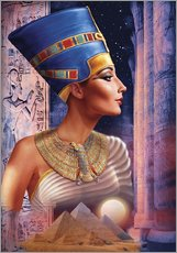 Wall sticker  Nefertiti - Andrew Farley