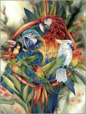 Wall sticker  Life's many colours - Jody Bergsma