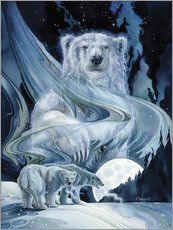 Wall sticker  Polar bears - Jody Bergsma