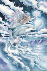 Gallery print  Wish upon a dolphin star - Jody Bergsma