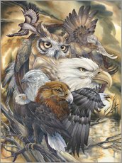 Wall Stickers  Sky Kings - Jody Bergsma