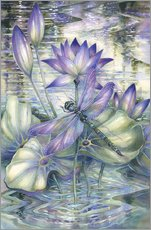 Wall sticker  Amethyst Sunrise - Jody Bergsma