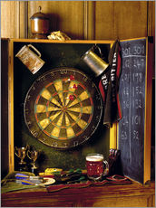 Gallery print  Darts board - Simon Kayne
