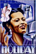 Gallery print  Billie Holiday - Roger Pearce