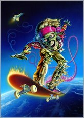 Gallery print  Skateboarder - Extreme Zombies