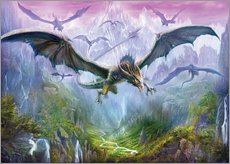 Wall Sticker  The Valley Of Dragons - Dragon Chronicles