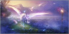 Wall sticker  Pegasus with its wings - Phil Straub