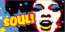 Wall sticker  Soul! for the funky world - JASMIN!