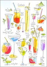 Gallery print  Cocktails - Maxwell