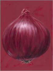 Wall sticker  Red onion - Brian James