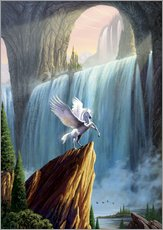Wall sticker  Pegasus kingdom - Garry Walton