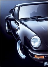 Gallery Print  Black Porsche turbo - Gavin Macloud