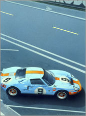 Wall sticker  Le Mans '68 - Gavin Macloud