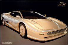 Wall sticker  Jaguar XJ220 - George Marshall