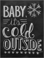 Wall sticker  Baby, It's Cold Outside - Lily & Val
