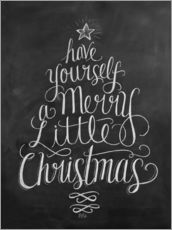 Wall sticker  Merry Little Christmas - Lily & Val