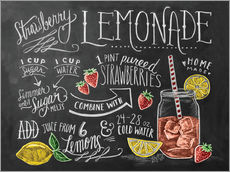 Wall sticker  Strawberry Lemonade - Lily & Val