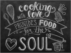Gallery print  Cooking With Love - Lily & Val