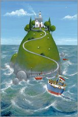 Wall Stickers  The Island - Peter Adderley