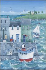 Wall sticker  Harbour gifts - Peter Adderley