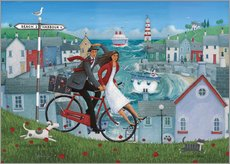 Gallery print  Bicycle seascape - Peter Adderley