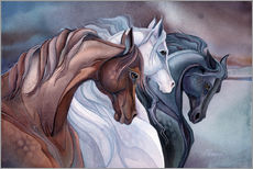 Wall sticker  Horses - Jody Bergsma