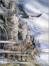Wall sticker  The three watchmen - Jody Bergsma