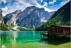 Wall Stickers  South Tyrol Lake Prags Lago di Braies Dolomites - Reiner Würz RWFotoArt