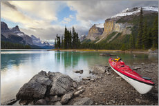 Gallery print  Kayak on the mountain lake - Gary Luhm