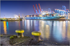 Wall Sticker  Container Terminal Tollerort - PhotoArt Hartmann