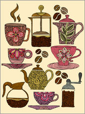 Gallery print  Have some coffee - Valentina Ramos