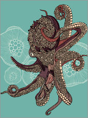 Gallery Print  Octopus Bloom - Valentina Ramos