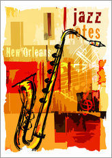 Gallery print  Jazz notes - colosseum
