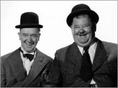 Wall sticker  Laurel and Hardy: Nothing but trouble