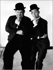 Wall sticker  LIBERTY, Oliver Hardy, Stan Laurel