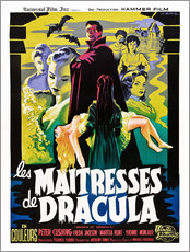 Wall sticker  THE BRIDES OF DRACULA (LES MAITRESSES DE DRACULA), David Peel