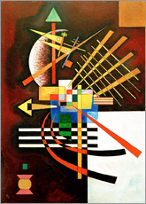 Wall Stickers  Top and Left - Wassily Kandinsky