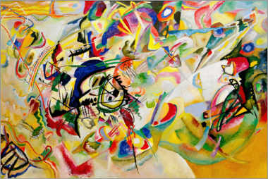Wall Stickers  Composition VII - Wassily Kandinsky