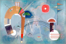 Gallery print  Round & Pointed - Wassily Kandinsky