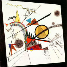 Gallery print  In the Black Square - Wassily Kandinsky