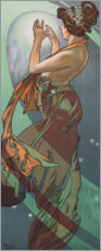 Gallery Print  The Pole Star - Alfons Mucha