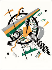 Wall sticker  Small Worlds IV - Wassily Kandinsky