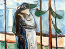 Premium poster  Kiss on the beach - Edvard Munch