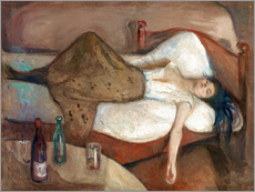 Wall Stickers  The Day After - Edvard Munch